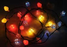 VINTAGE LUCI DI NATALE CRISTALL IN BOX CCCP CHRISTMAS DECORATION LIGHTS USSR