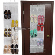 24 Pockets Door Hanging Bag Shoe Rack Hanger Storage Holder Organizer Shelf