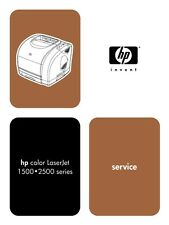 HP Color Laserjet 1500 / 2500 Printer Service Manual(Parts & Diagrams)