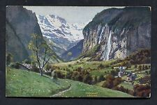 C1950's Advertising Card - Caillers Swiss Chocolate