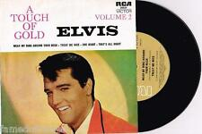 "ELVIS PRESLEY - A TOUCH OF GOLD VOL. 2 - 7"" 45 E.P VINYL RECORD w WRAP SLV"