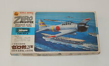 Hasegawa Zero Fighter Mitsubishi A6M2 Japanese Navy Fighter 1/72 Model Kit