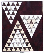 Up and Down - modern pieced quilt PATTERN - Plum Tree Quilts