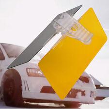 Car Sun Visor Anti-Glare Blocker UV Fold Flip Down HD Clear View Visor PC Lens