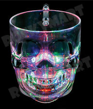 16oz Light Up SKULL MUG CUP Halloween RM3267