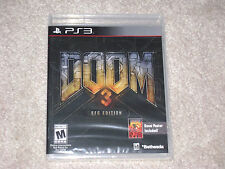 DOOM 3 BFG EDITION.....PS3.....****SEALED***BRAND NEW***!!!!!!!