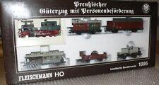 K25  Fleischmann 1895 Zugset Preussischer Güter/Personenzug A/c f. Wechselstrom