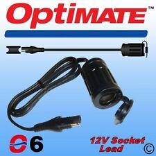 Optimate 12V Weatherproof Accessory Socket Lead SAE76 (6)