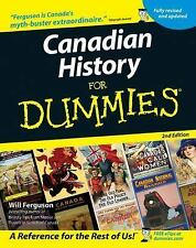 Canadian History for Dummies Ferguson, Will Books-Good Condition