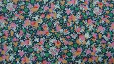 LIBERTY OF LONDON PINK BLACK FLORAL ABSTRACT COTTON NECKTIE TIE MAP2117A #I18