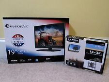 "New Element ELEFW195 19"" Inch 720p Class LED HDTV Television With Wall Mount"