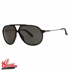 CARRERA 82 SUNGLASSES CVS/RC Black & Ruthenium Frame Green Gradient POLARIZED