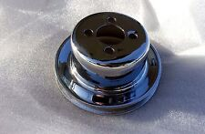 CHROME PLATED Volvo 1800 P1800 S E ES Amazon 122 144 b18 b20 WATER FUN PULLEY