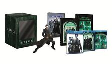The Matrix Bluray Collection with 30cm Neo Statue - Italian Edition New & Sealed