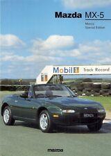 MAZDA MX-5 MONZA 1.6 I EDIZIONE LIMITATA 1997 mercato del Regno Unito foglio BROCHURE DI VENDITA