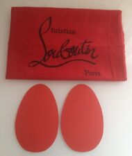 Christian Louboutin Custom Red Sole Protectors 2 Pairs! Self Adhesive -Anti Slip