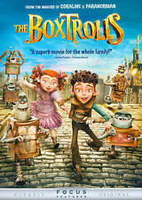 The Boxtrolls (New DVD, 2015) Still Sealed.  Creators of Paranorman and Coraline