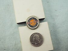 HARD ROCK CAFE LAPEL PIN 1998 ROCK 'N' ROLL OUT BEER BOTTLE CAP