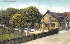 AK Conditorei u. Cafe Wustlich Zwickau-Weißenborn Postkarte vor 1945