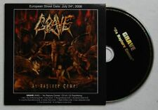 Grave As Rapture Comes Adv Cardcover CD 2006 Death Metal