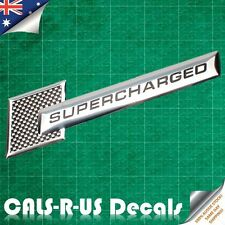 Oz Supercharged Metal Badge Emblem Sticker Car BMW Audi Holden HSV VW Jeep B1