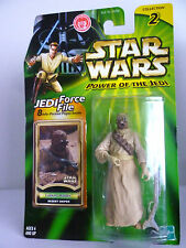Tusken Raider Desert Sniper Star Wars Figure Power of the Jedi Hasbro MOC 2000