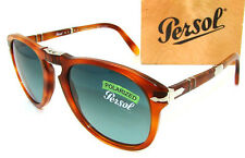 PERSOL Steve McQueen 714SM Polarized Folding Sunglass PO 714 - 96/S3 *NEW* 52mm