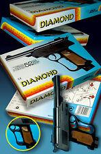 ALTE DIAMOND SPIELZEUG PISTOLE 52 SCHUSS OVP UNBENUTZT EDISON GIOCATTOLI 80er