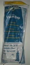 VACUUM CLEANER BAGS JOHNNY VAC 975ECM MICROFILTER WINDSOR SENSOR SEBO PKG/10