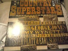 Country Superstars Box Set of Eight LP's - Readers Digest 1978