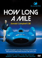 HOW LONG A MILE DONALD CAMPBELL CBE DVD BOTH LAND & WATER WORLD BLUEBIRD RECORDS