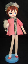 "RARE Vintage DDD Tagged Big Eye Mod 17"" Dream Doll by Dakin Dog 1960's Japan"