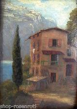 Ölgemälde Riva del Garda / Gardasee  um 1900  - signiert