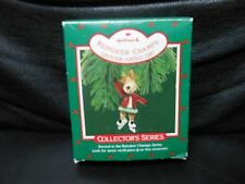 "Hallmark Keepsake ""Reindeer Champs - Dancer"" 1987 Ornament NEW 2nd in Series"
