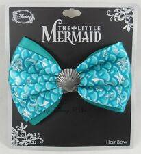 Disney The Little Mermaid Ariel Shell Charm Cosplay Hair Bow Pin Clip Costume