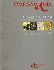 RARE - ANTIQUORUM OMEGAMANIA OMEGA Watch James Bond Auction Catalog 2007