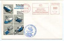 1966 Werbeschau Arbeitskreis Astrophilatelie Zehn Jahre Bolkow GMBH Deutsche