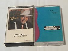 Reel & Rock by David Holt + A Night at the Grind by Jon Kay (Cassette) Lot of 2)