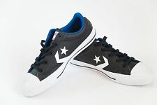 *NEW* Converse One Star Black Leather Low Top mens 5.5/ women 7.5