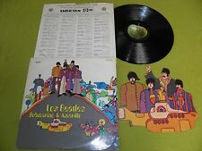 Los Beatles - Submarino Amarillo - 1969 Argentina 1st Mono LP + Die-Cut Mobile !