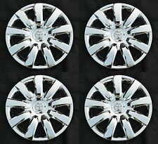 "Set (4pcs) 15"" CHROME Rim Wheel Cover Hubcap for 2000-2012 Toyota Wheelcovers"