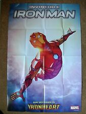 "INVINCIBLE IRON MAN (24"" x 36"" MARVEL FOLDED PROMO POSTER, 2016)"