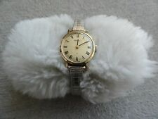 Vintage Wind Up Seiko Ladies Watch with a Stretch Band - Runs Slow