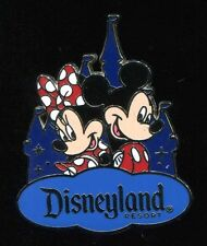 2016 Mickey & Minnie Mouse Disneyland Resort Travel Company Castle Disney Pin