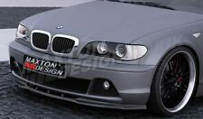 FRONT SPLITTER (GLOSS BLACK) FOR BMW 3 E46 COUPE FACELIFT  (2002-2007)