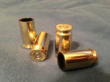4 Brass .40 S&W Cal Bullet Cartridge Tire Air Valve Stem Caps - Car Truck ATV
