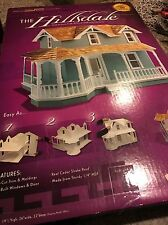 New Dura Craft Full Size Dollhouse Wooden Kit Hillsdale Victoria Set