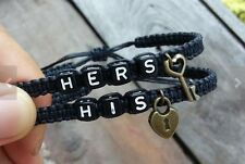 Couples Bracelet Personalized Gift Key Lock Boyfriend Girlfriend Jewelry