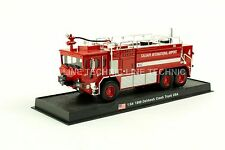 Giant Fire Truck Oshkosh Crash Truck - USA -1989 Diecast Model 1:64 No 3