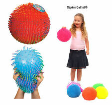 Large Puffer Ball Furb Squashy Tactile Hairy Sensory Stress Relief Autism